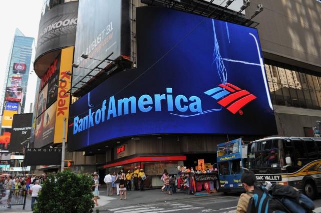 Bank of America (BofA) et sa filiale Countrywide ont été condamnées mercredi... (Photo STAN HONDA, AFP)