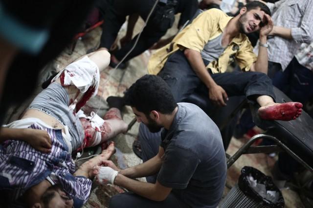 Le conflit a tué plus de 170000 personnes... (PHOTO ABD DOUMANY, AFP)