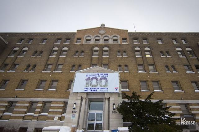 L'hôpital Lachine avait fait parvenir en février dernier... (Photo: André Pichette, archives La Presse)