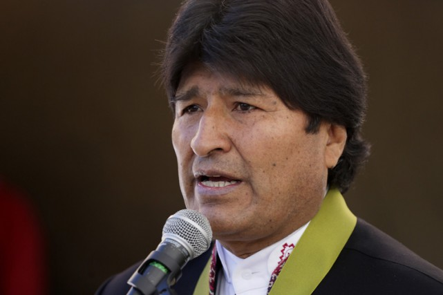 Le président bolivien Evo Morales.... (Photo: Reuters)