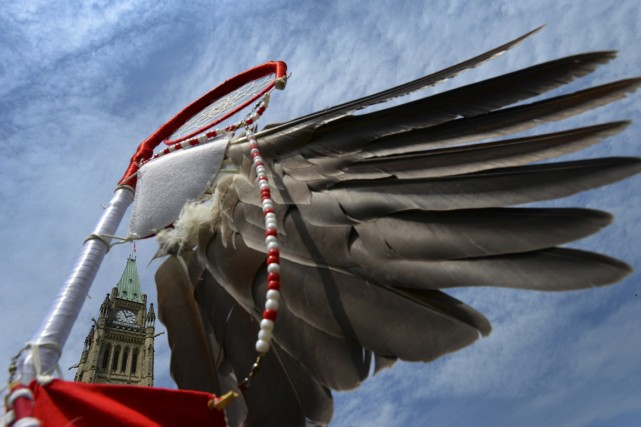 Les communautés des Premières Nations avaient jusqu'à minuit... (PHOTO SEAN KILPATRICK, ARCHIVES LA PRESSE CANADIENNE)