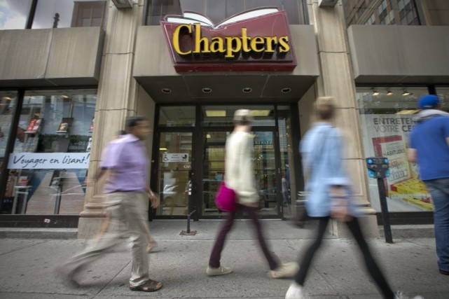 PHOTO DAVID BOILY, LA PRESSE- Montreal---Le magasin chapters... (David Boily)