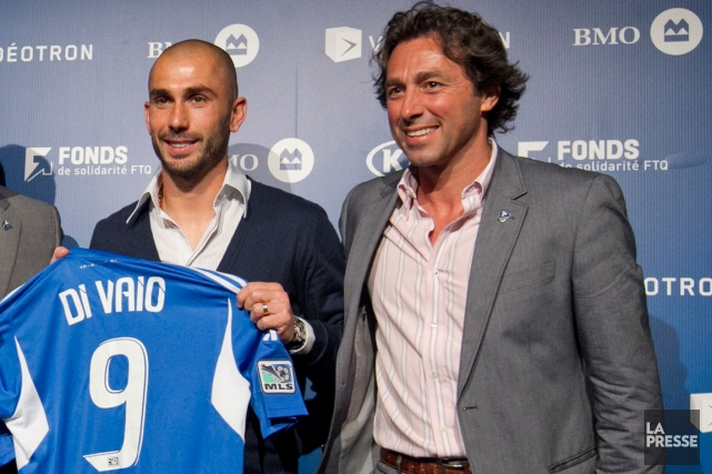 En 2012, Marco Di Vaio est devenu le... (Photo Hugo-Sébastien Aubert, archives La Presse)
