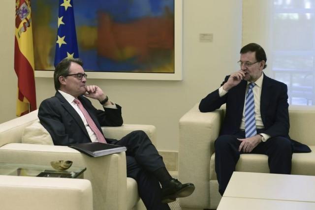 Le chef du gouvernement espagnolle président de la... (PIERRE-PHILIPPE MARCOU)