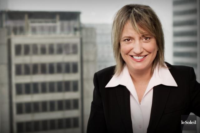 Martine Hébert, vice-présidente principale et porte-parole nationale de... (Photothèque Le Soleil)