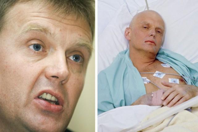 Alexandre Litvinenko, un transfuge des services de renseignement... (Archives AFP)