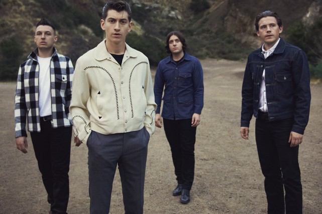 Le groupe Arctic Monkeys, qui se produira sur... (Photo: fournie par evenko)