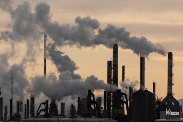 Le FMI propose d'imposer des taxes énergétiques à... (Photo archives La Presse)