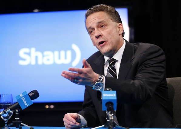 Brad Shaw, PDG de Shaw Communications... (Photo TODD KOROL, Reuters)
