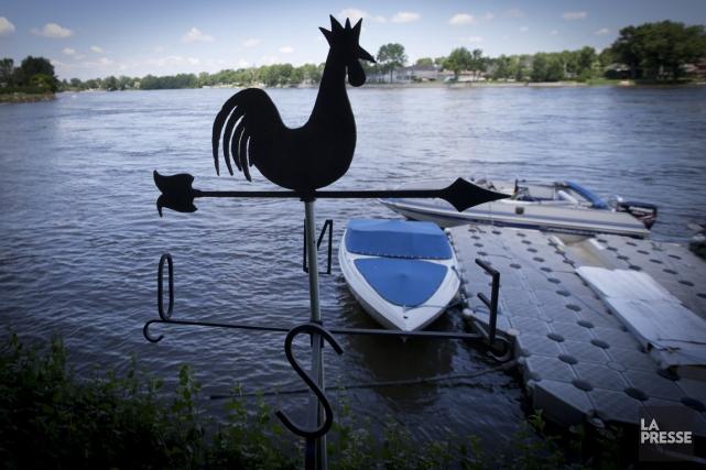 Vivre en ville comme au bord de l'eau à la campagne, c'est possible à Montréal.... (Photo Olivier Jean, La Presse)