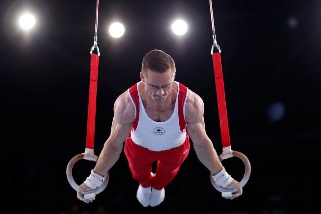 Le gymnaste canadien Scott Morgan a remporté la... (Photo Phil Noble, Reuters)