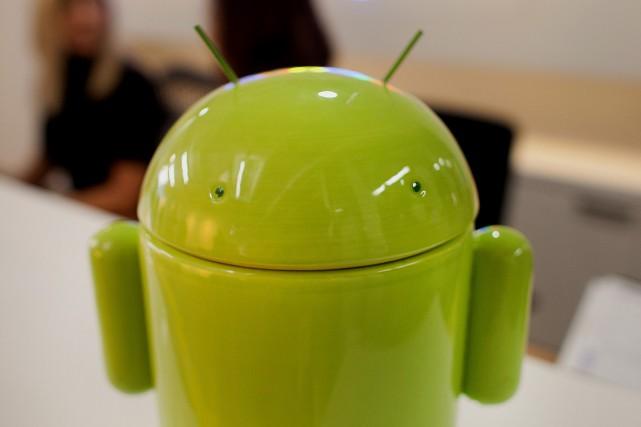 «Les utilisateurs sont libres d'utiliser Android avec ou... (Photo Brett Gundlock, archives Bloomberg)