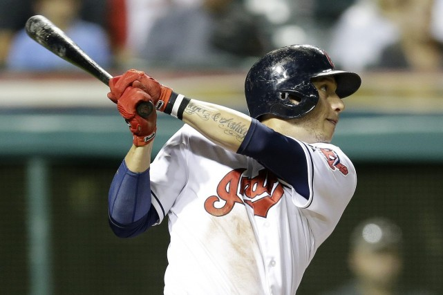 Asdrubal Cabrera... (Photo Tony Dejak, archives AP)