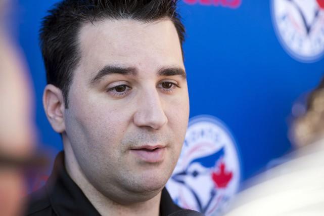 Le directeur général des Blue Jays, Alex Anthopoulos.... (Photo Frank Gunn, archives PC)