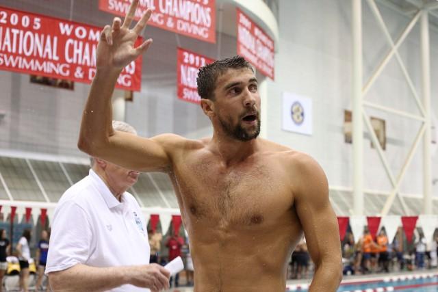 Michael Phelps participera à quatre épreuves lors des championnats nationaux... (Photo Kevin Liles, USA Today Sports)