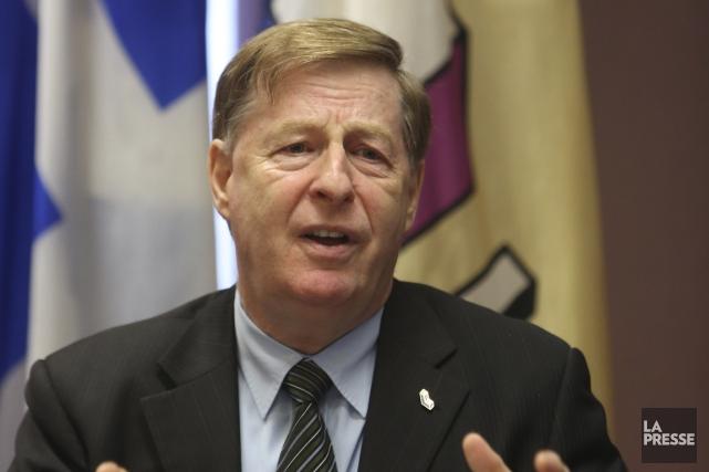 Le maire de Laval, Marc Demers.... (PHOTO MARTIN CHAMBERLAND, ARCHIVES LA PRESSE)