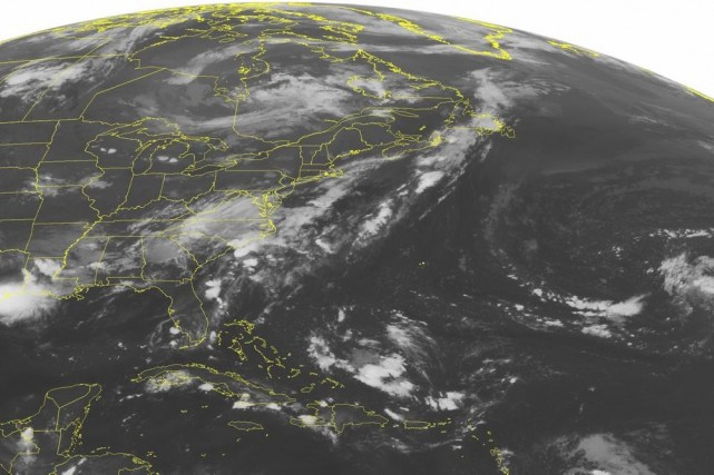 Les météorologistes américains mettent en garde contre de... (PHOTO AP /WEATHER UNDERGROUND)