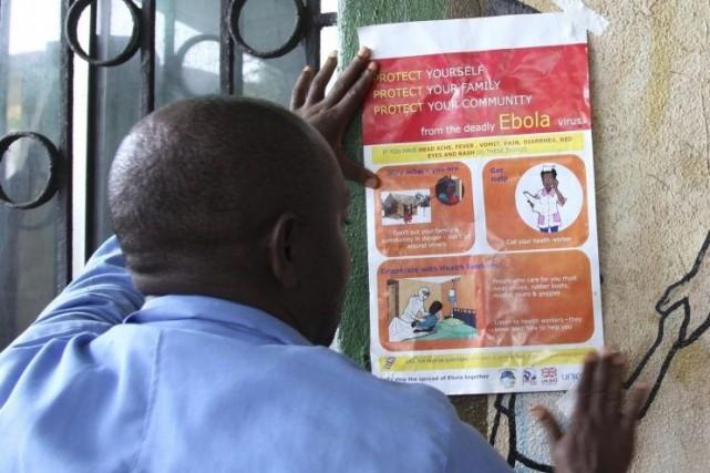 Le virus Ebola, contre lequel il n'existe pas... (PHOTO AFP / STRINGER)