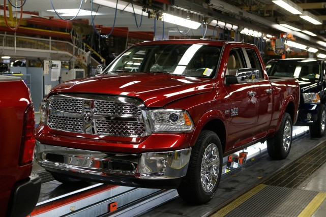 Un Dodge Ram 2014.... (PHOTO REBECCA COOK, REUTERS)