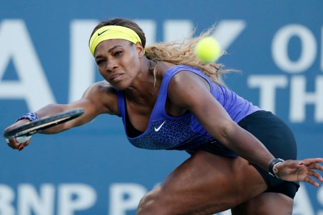 Serena Williams n'a encore donné aucun signe qu'elle... (Photo Beck Diefenbach, AP)