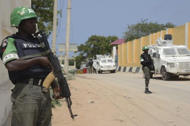 Chassés de Mogadiscio, les shebab, qui contrôlent toujours... (Photo Mohamed Abdiwahab, Archives AFP)