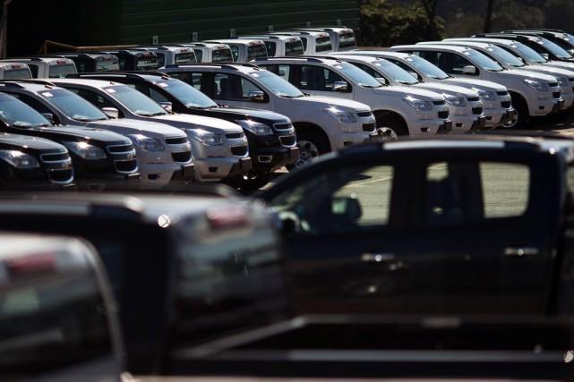 GM a vendu 256160 véhicules, soit son meilleur... (PHOTO REUTERS)