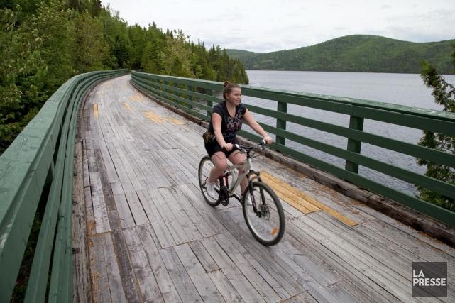 En route vers le Nouveau-Brunswick ou pendant des vacances dans le... (PHOTO ALAIN ROBERGE, LA PRESSE)
