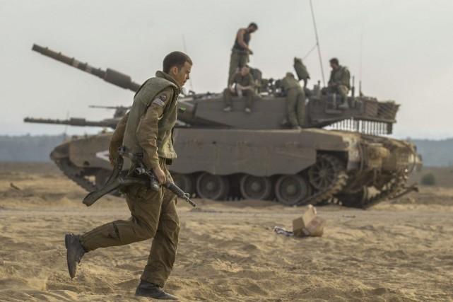 La capture probable d'un soldat israélien, au cours... (PHOTO JACK GUEZ, AFP)