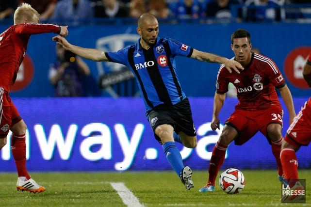 L'Impact affrontera le FC Toronto au stade Saputo,... (Photo Olivier Jean, archives La Presse)