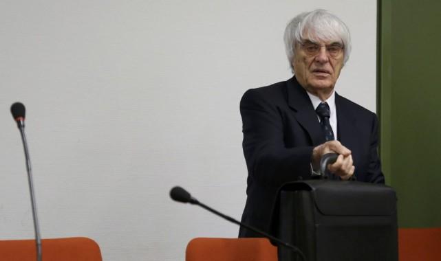 Le grand patron de la F1, Bernie Ecclestone.... (Photo Matthias Schrader, Reuters)