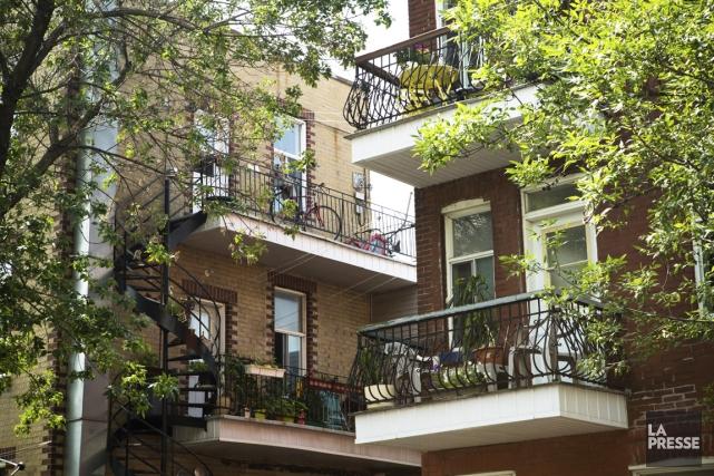 Plusieurs immeubles de condos n'en ont pas. Les résidants qui en ont ne les... (Photo Ninon Pednault, La Presse)