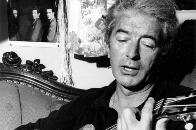 Félix Leclerc est mort le 8 août 1988.... (Photo: fournie par la SRC)