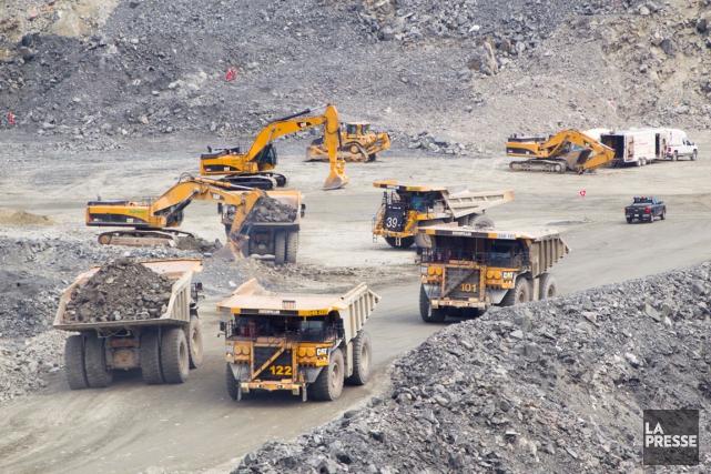 La mine d'or Canadian Malartic, en Abitibi.... (PHOTO IVANOH DEMERS, ARCHIVES LA PRESSE)