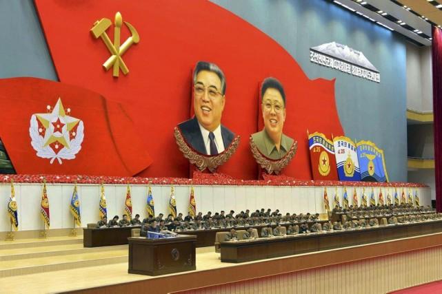 Pyongyang accorde régulièrement la permission d'interviewer les Américains... (PHOTO ARCHIVES KNS)
