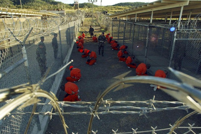 L'un des camps de Guantanamo.... (Photo Archives Reuters)