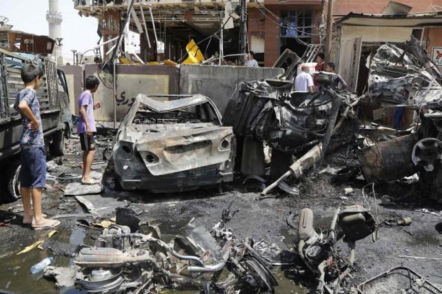 Selon l'ONU, les violences en Irak ont tué... (PHOTO REUTERS STRINGER/IRAQ)