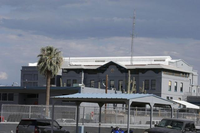 Le pénitencier d'Arizona où a eu lieu l'exécution... (Photo AP)