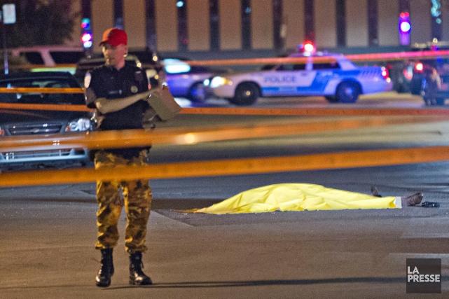 Si la piste de la vengeance du meurtre... (PHOTO FÉLIX O.J. FOURNIER, COLLABORATION SPÉCIALE)