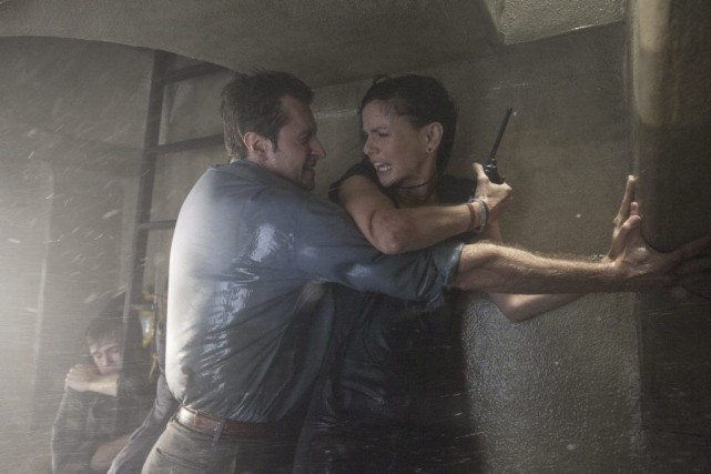 Dans Into the Storm, Sarah Wayne Callies incarne... (PHOTO FOURNIE PAR WARNER)