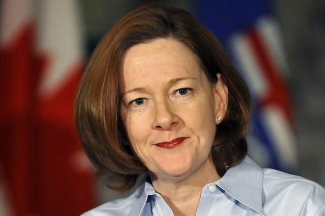 L'ex-première ministre de l'Alberta, Alison Redford.... (Photo Dan Riedlhuber, Reuters)