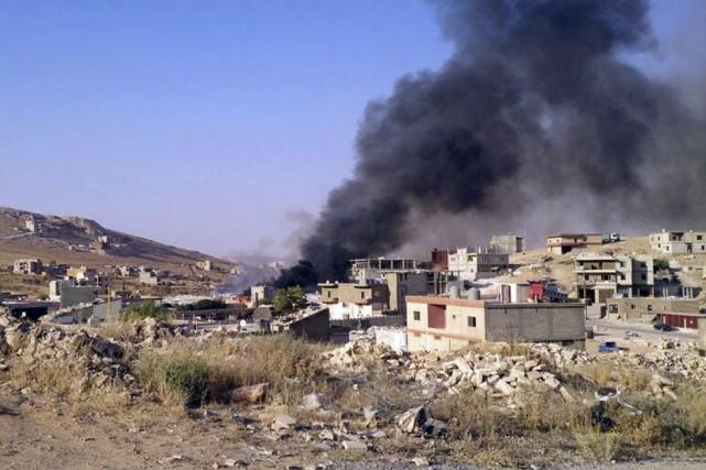 Selon une source de sécurité, des soldats ont... (Photo AP)