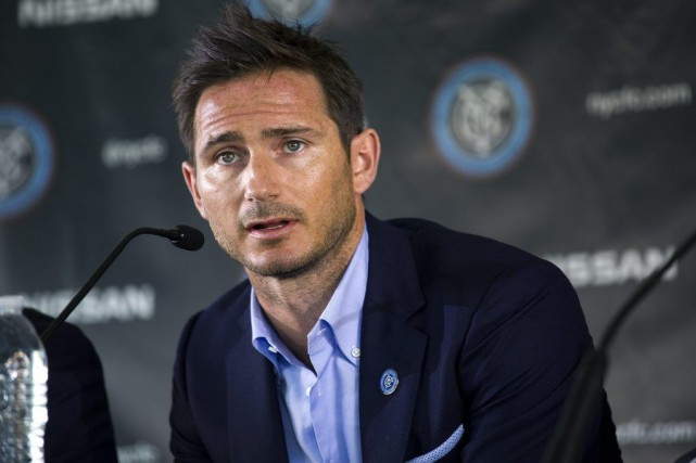 Frank Lampard s'alignera avec le New York City FC... (PHOTO CRAIG RUTTLE, AP)