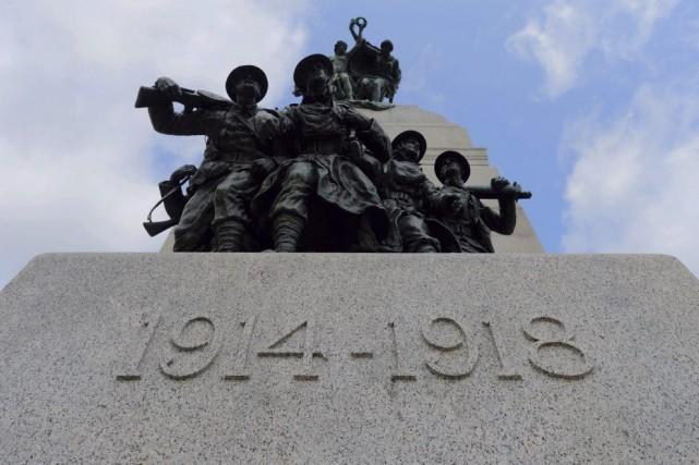Le Monument commémoratif de guerre du Canada àOttawa.... (Archives La Presse Canadienne)