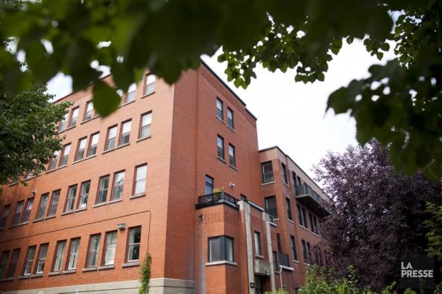 L'ancien couvent du boulevard Saint-Joseph est zoné communautaire... (Photo: Sarah Mongeau-Birkett, La Presse)