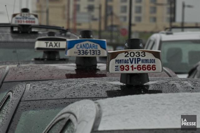 Le problème du vomissement dans les taxis est... (Photo Olivier Jean, Archives La Presse)