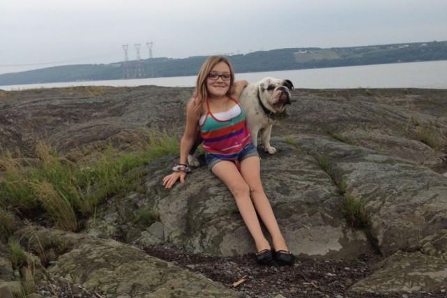 Laurie Patry-Pelletierest atteinte dusyndrome de Morquio. Elle a... (Photo fournie)