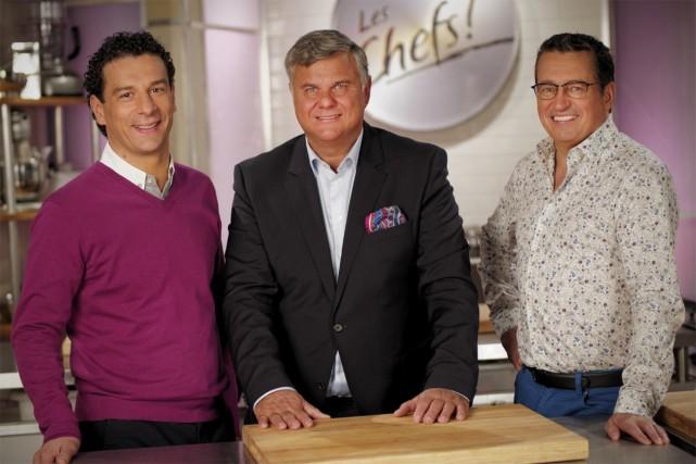 Pasquale Vari, Jean-Luc Boulay et Normand Laprise, les... (Photo: fournie par ICI Radio-Canada Télé)
