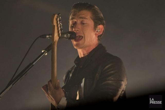 Arctic Monkeys a lancé son premier album l'année de la naissance d'Osheaga.... (Photo: Olivier Jean, La Presse)