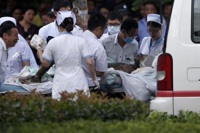 Des sites d'information ont publié des photos montrant... (Photo ALY SONG, Reuters)