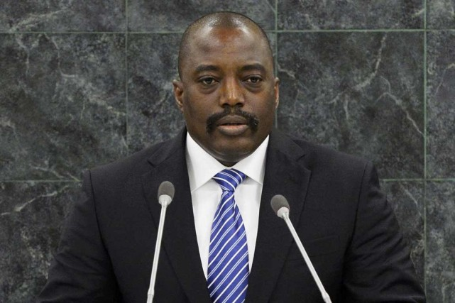 Le président de la République démocratique du Congo... (ARCHIVES PHOTO STAN HONDA, ARCHIVES REUTERS)